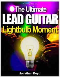 The Ultimate Lead Guitar Lightbulb Free guitar course
